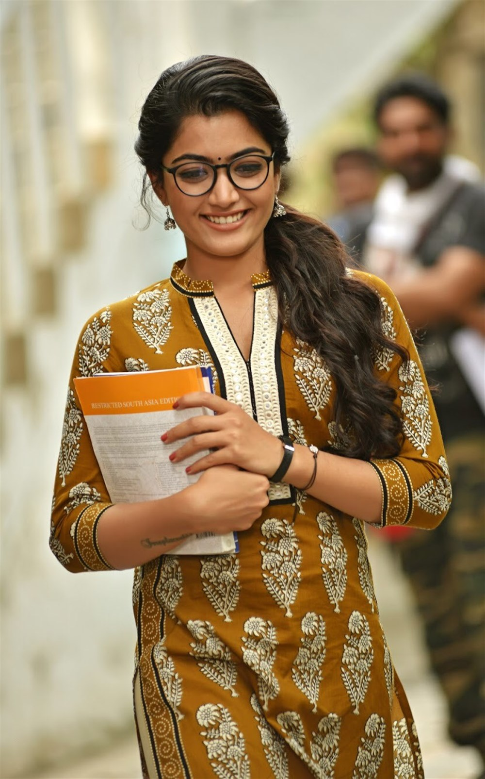Heroine Rashmika Mandanna in Chalo Movie New Stills