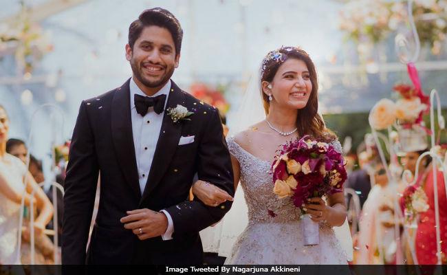 Samantha, Naga Chaitanya Wedding Pics