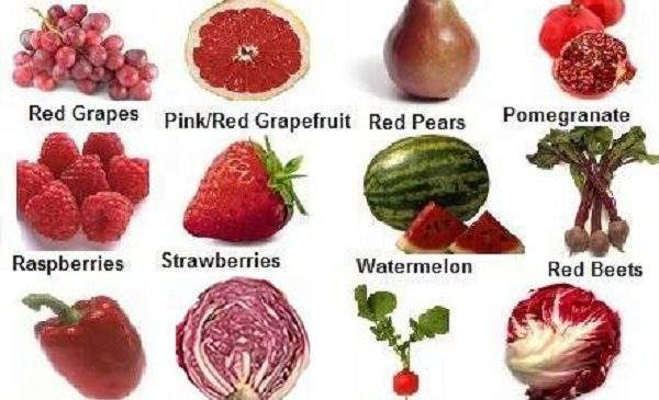 Eat Red Colored Fruits and Vegetables to stay healthy!