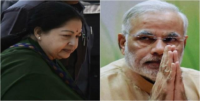 Jaya a source of inspiration says Modi