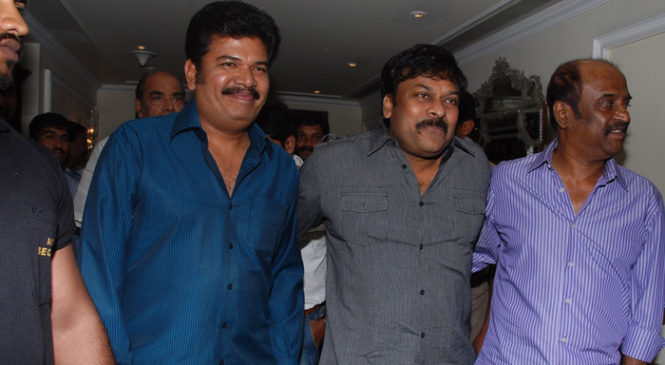 Mega Star in Shankar and Rajini ROBO Movie?
