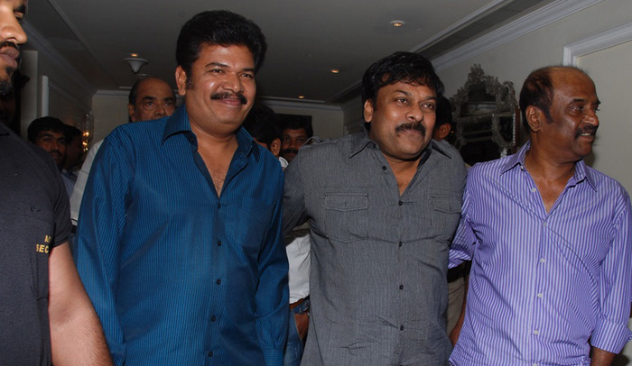 Mega Star in Shankar and Rajini ROBO Movie