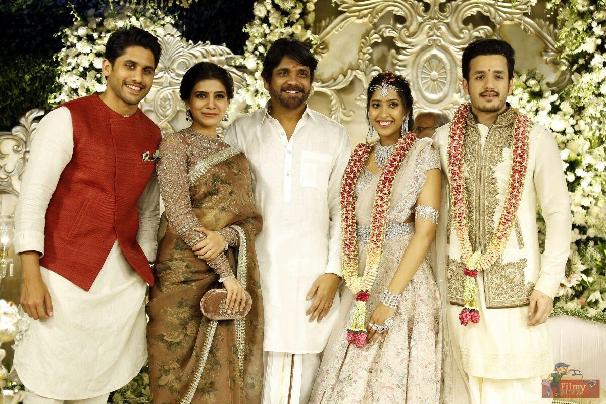 Akhil Akkineni Engagement Stills