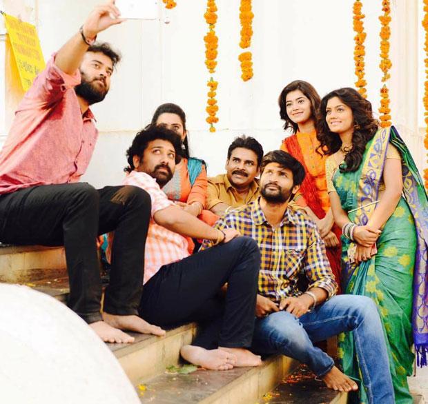 Katama Rayudu Movie New Working Stills