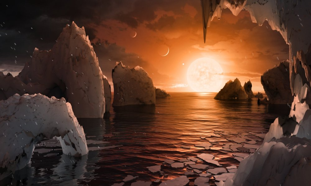 NASA found 7 New Earth Sized Planets Orbitating Near a Top Star