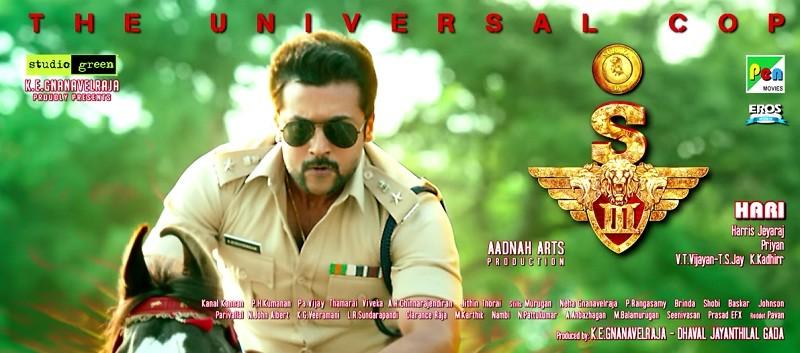 Suriya Shruthi Haasan Singam 3 Movie Review