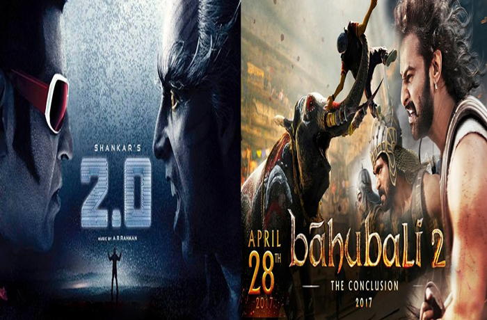 Robo 2.0 Movie vs Bahubali 2 Movie