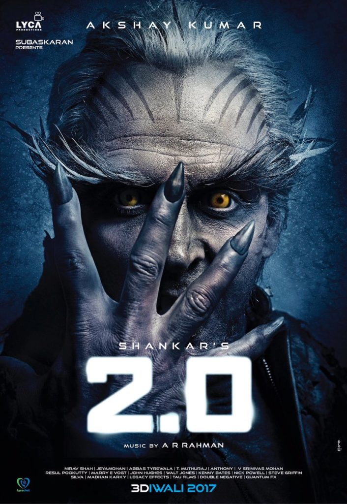Highest Remuneration for ROBO 2.0 Movie Villain Akshay Kumar