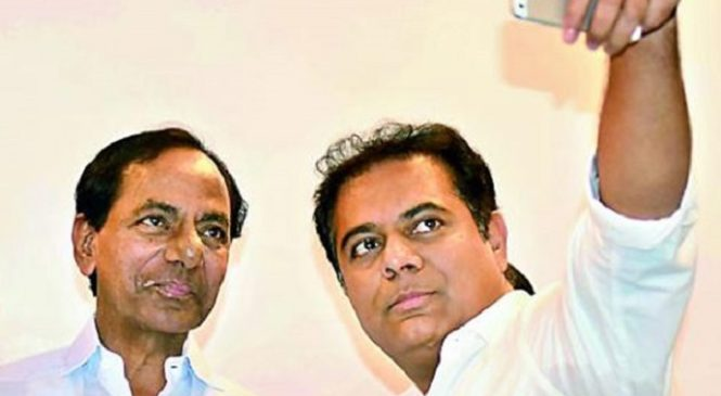 KTR is the next CM of Telangana