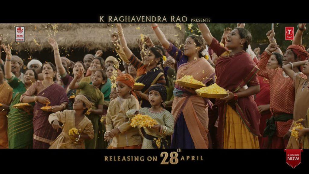 SS Rajamouli Daughter Mayukha in Bahubali 2 Movie
