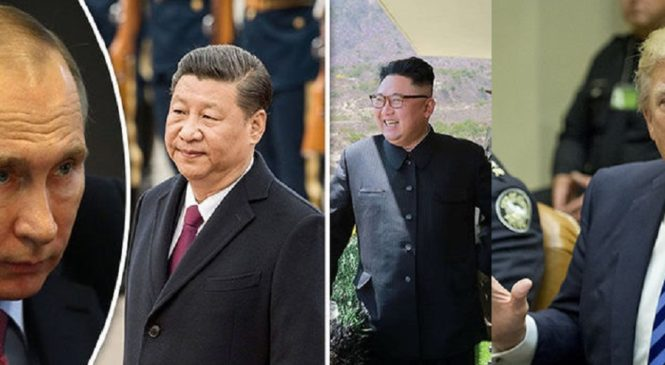 Russia, China sends Forces to North Korea Border