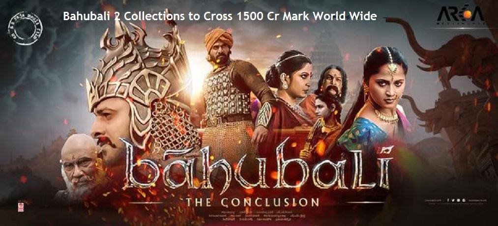 Bahubali 2 on Cake Walk To Cross 1500 Crores Mark