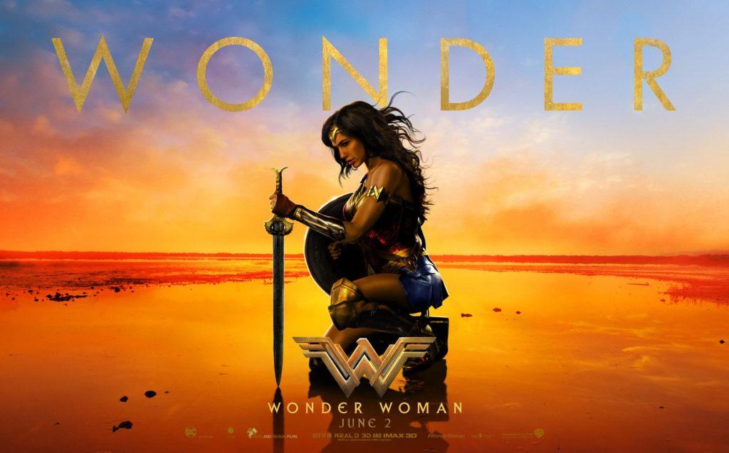 Wonder Woman Shaking Hollywood