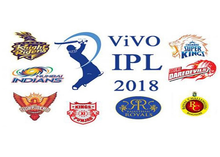 IPL (Indian Premier League) 2018 Schedule