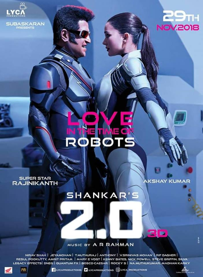 Rajini Amy Jackson 2.0 Movie Review