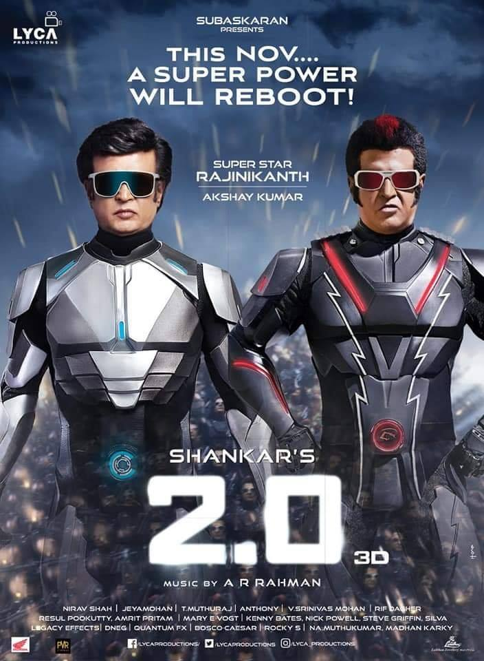 Rajinikanth Robo 2.0 Movie Review