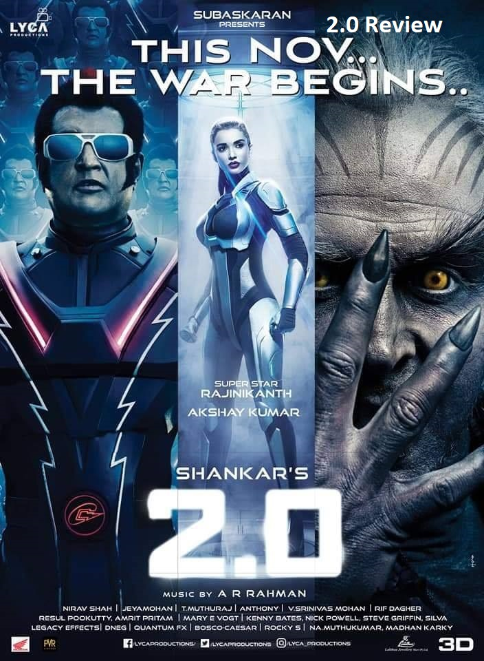 Robo 2.0 Movie Review