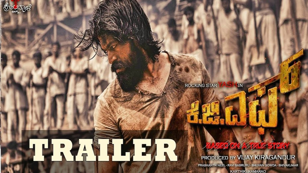 Rocking Star Yash Starring KGF Official Trailer