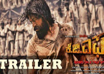 KGF Trailer | Yash, Srinidhi Shetty, Prashanth Neel, Vijay Kiragandur
