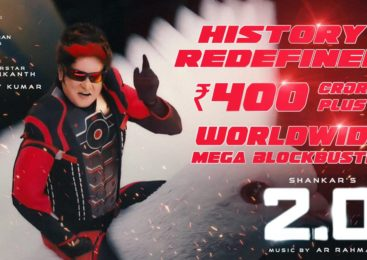 2.0 Grossed 400 Crores in 1st Weekend