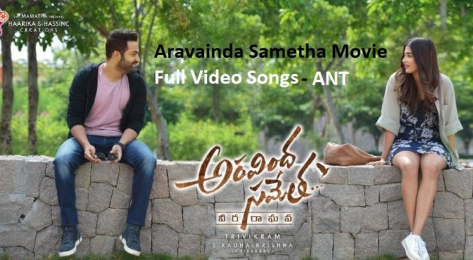 Aravinda Sametha Movie Full Video Songs | Jr NTR, Pooja Hegde