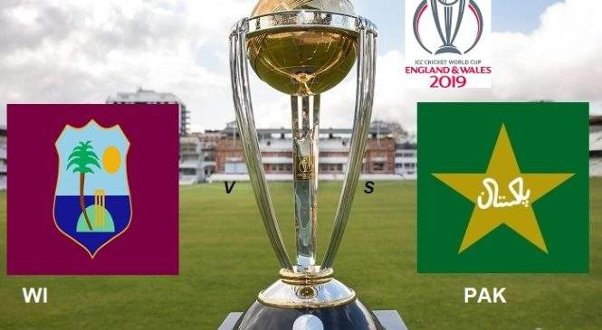 ICC World Cup 2019 West Indies vs Pakistan Match 2 | Cricket News Updates