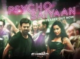 Prabhas Saaho 'Psycho Saiyaan' Song Teaser